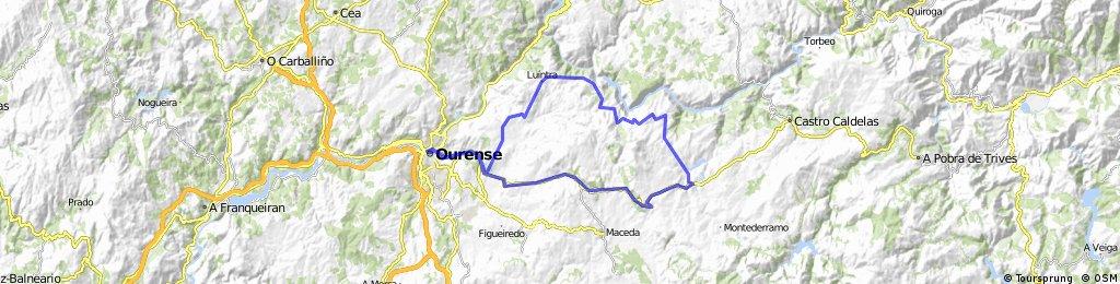 OU-Rodicio-Vilariño-Parada-Luintra-Faramontaos-OU