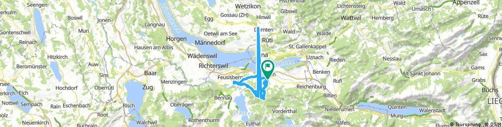 Lange Ausfahrt durch Altendorf