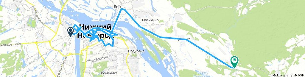 Nizhny Novgorod - Bor - Na Vatome