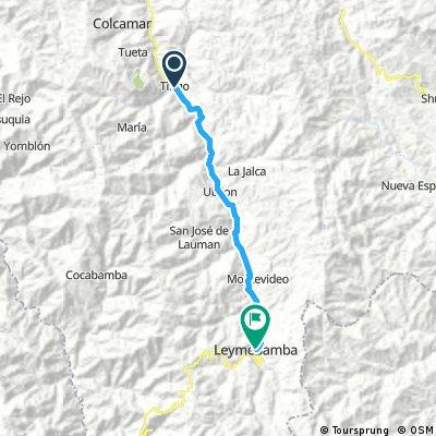Long bike tour from 8 juin 06:56