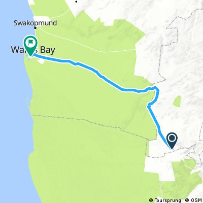 Solitaire- Walvis Bay (Odyssey of the Oryx Stage 3)
