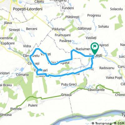 Long ride through Budești