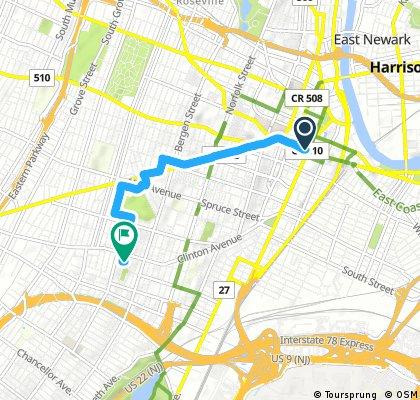 Short bike tour through Newark