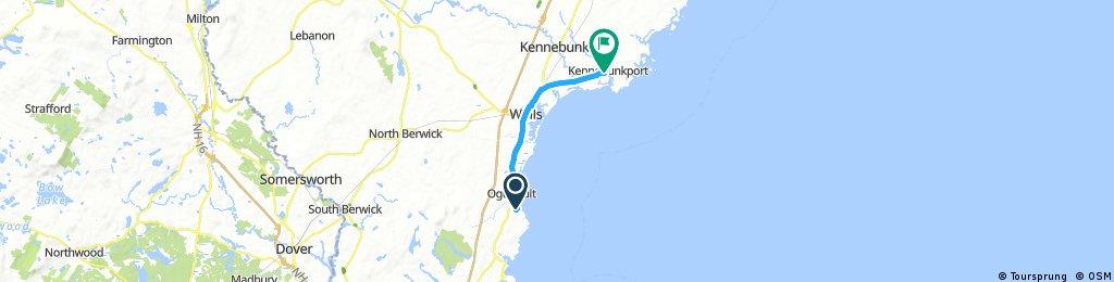 ride through Kennebunk