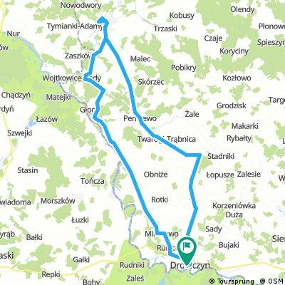 Drohiczyn - Granne - Ciechanowiec - Perlejewo - Ostrożany - Drohiczyn
