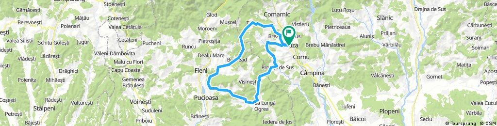 Breaza - Talea - Bezdead - Valea Lunga - Adunati - Breaza