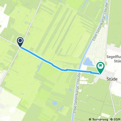 Verbindungsstrecke Neudorf-Platendorf - Stüde