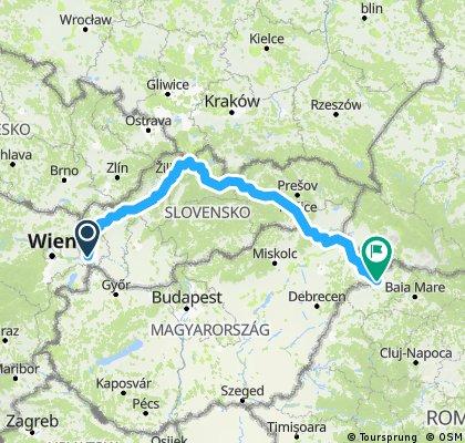 Slovakia Route