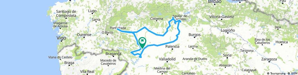 junio 17  Palencia, Zamora, León