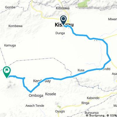KISUMU Mount Homa