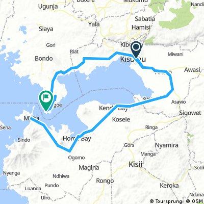 Kisumu- Kisumu - Mini tour de lac victoria
