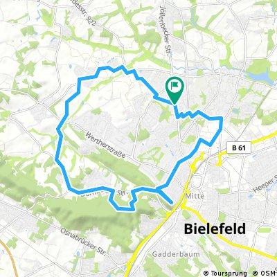 Bielefelds Westen / Teuto-Kamm