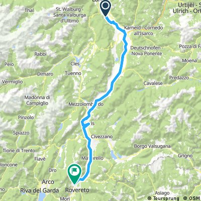 Rom Tour 9 - 2017 - 60 hm - Trento