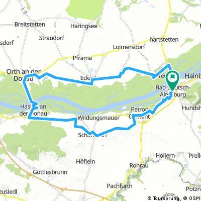 Bad Deutsch Altenburg - Orth an der Donau - Carnuntum Tour