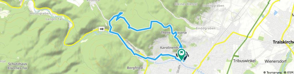 Radrunde durch Gemeinde Baden