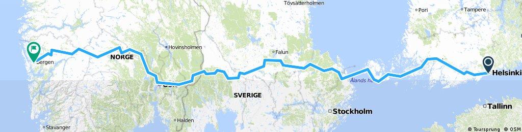 helsinki-stockholm-oslo-bergen