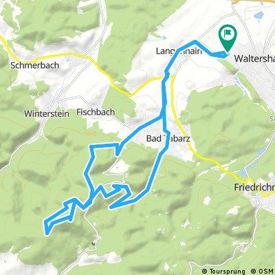 Waltershausen Großer Inselsberg und zurück