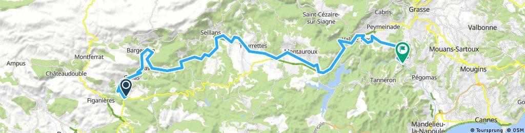 006_Projet Nice Callas/Auribeau sur Siagne