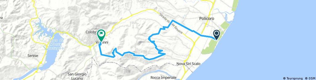 Policoro - monte Coppolo - Valsinni