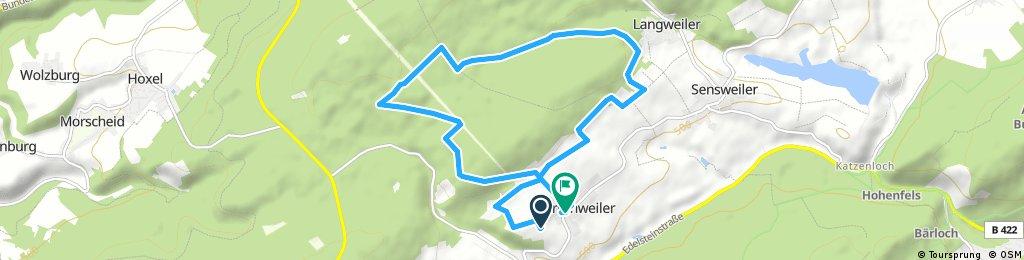 Radrunde Wirschweiler 10km