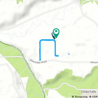 Short bike tour through Valley View