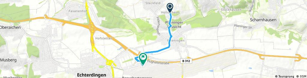 Hohenheim - Fernbusbahnhof