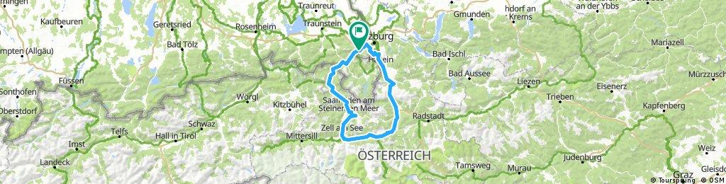 Tauernradweg Loop Ridden June 2017