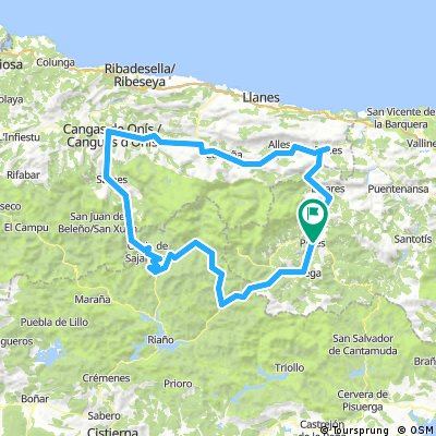 Cycling routes and bike maps in and around Potes | Bikemap - Your ...