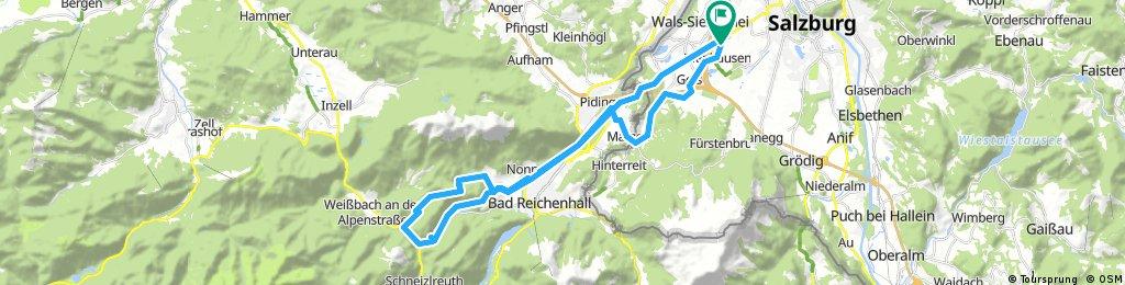 *Über den Salinenweg zur Höllbachalm
