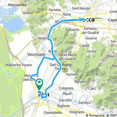 2017 - Ladispoli - Lucca - 4. Tag - Pisa - Lucca - Pisa