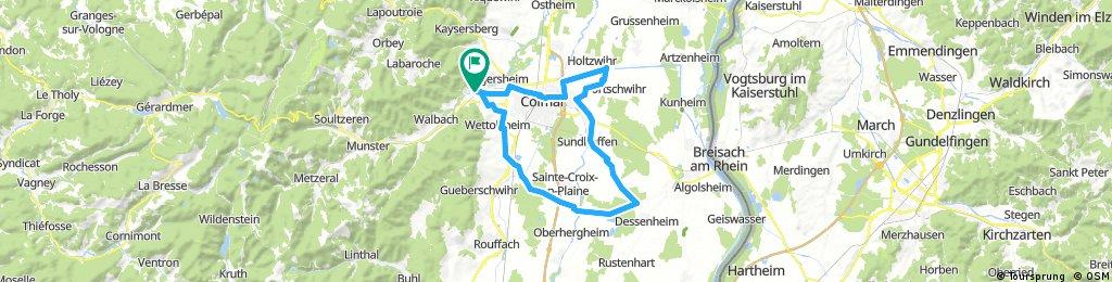 14-6-2017 Rondje rond Colmar