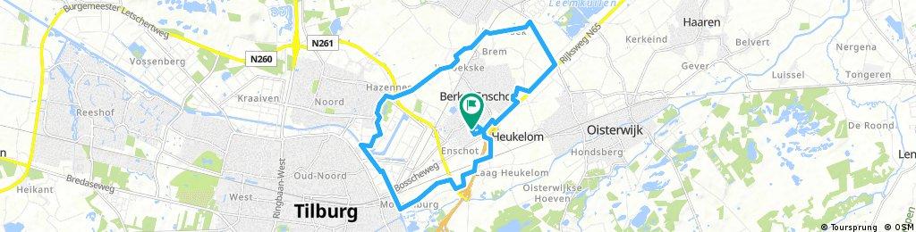 bike tour through Berkel-Enschot