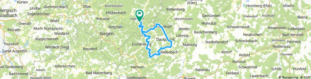 Tour nach Siegbach und Bad Endbach
