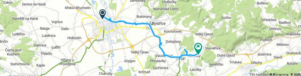 Olomouc - Svrčov