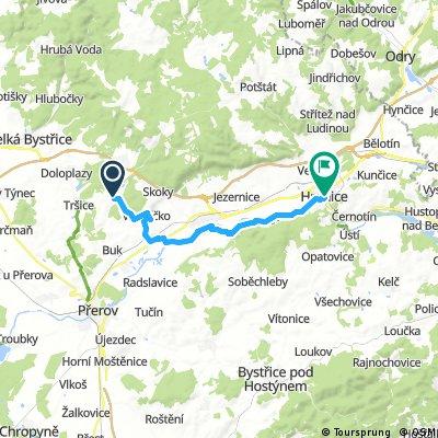 Svrčov - Hranice na Moravě