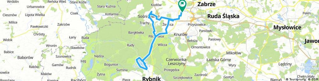 Gliwice-Rybnik Jezioro-Gliwice