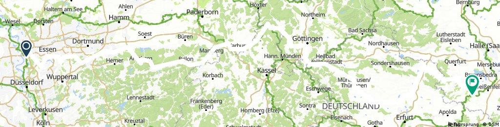 2017-06 Ruhr-Diemel-Weser-Leine-Unstrut