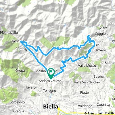 Andorno Micca - Bocchetto Sessera - Bielmonte - Oasi Zegna - Trivero - Mosso (Biella)