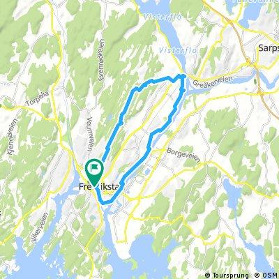 Rolvsøy på Glommastien og gjennom Fredrikstadmarka