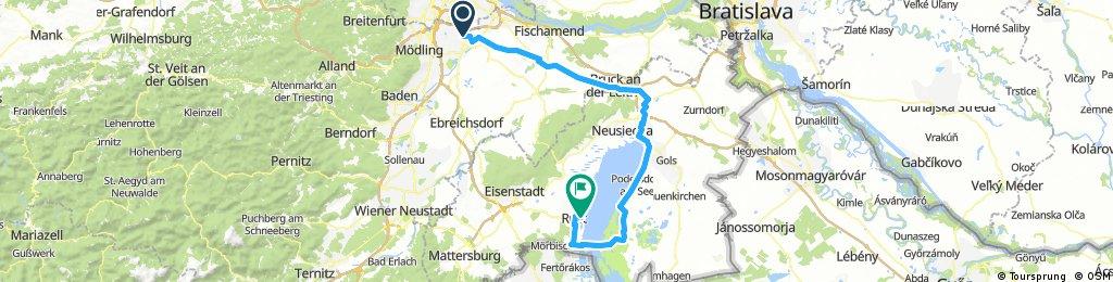 Neusiedlersee Tour 2017 Tag 1