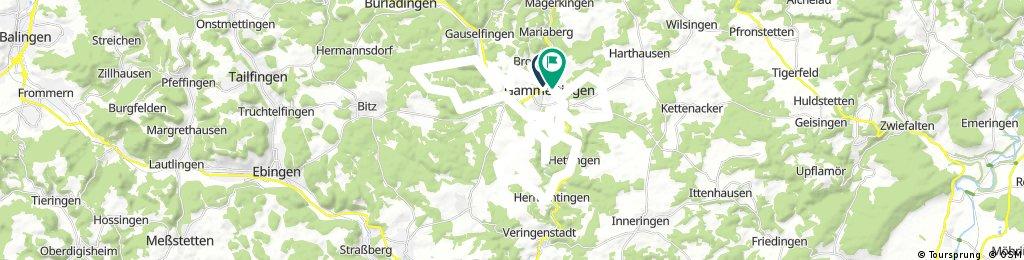 Schöne Trails um Gammertingen