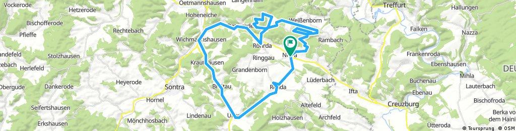 Long ride through Ringgau