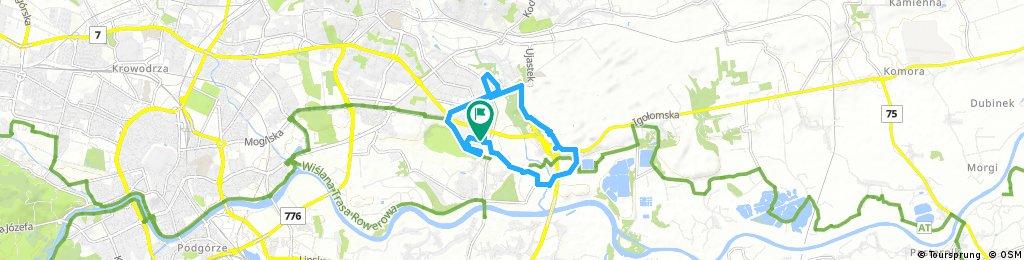 bike tour through Krakow