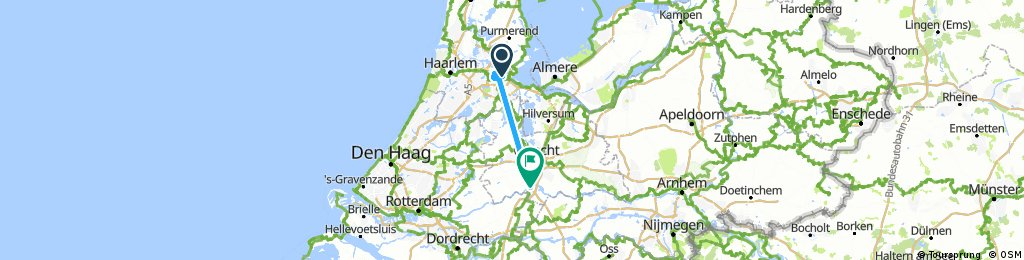 ride from Amsterdam to Vianen