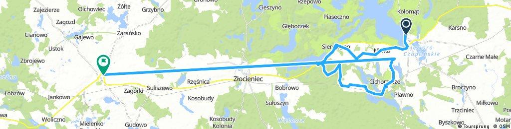 ride through Drawsko Pomorskie
