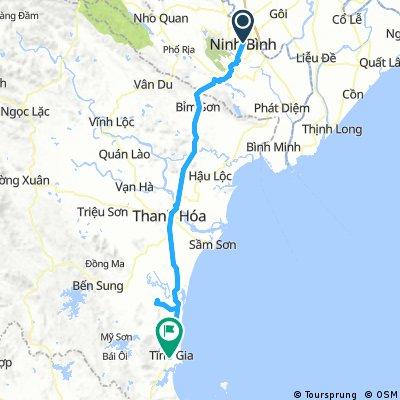 Day 21: Ninh Binh - Tinh Gia 122.6km