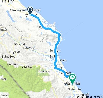 Day 24: Ky Phong - Dong Hoi 124 km