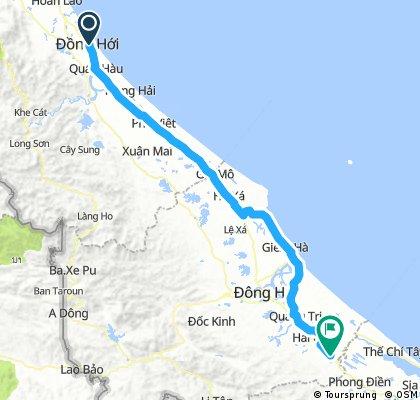 Day 25: Dong Hoi - Tan Hiep 163 km