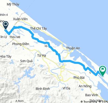 day 26:Tan Hiep- Vinh Thanh 100 km