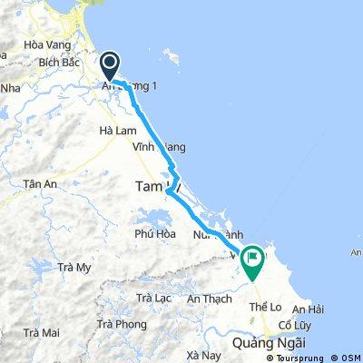 Day 29: Hoi An - Chau O (100km)